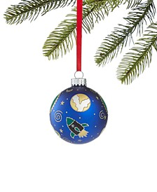 Spaced Out Glass Ball Ornament, Created for Macy's