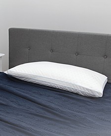 Paired Comfort Hybrid Memory Foam and Fiber King Bed Pillow