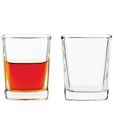 Square Shot Glasses, Set of 6