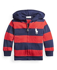 Baby Boy Cotton Jersey Hoodie