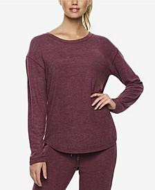 Brushed Jersey Loungewear Top