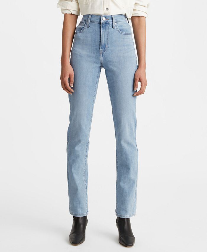 Levi's - 724 Ripped Straight-Leg Jeans