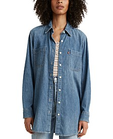 Jicama Cotton Denim Tunic
