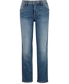 Diana High-Rise Fab AB Ankle Skinny Jeans