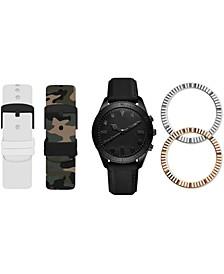 Men's Interchangeable Strap Watch 47mm Gift Set