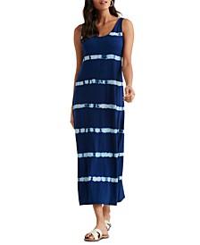 Easy Knit Tie-Dye Maxi Dress