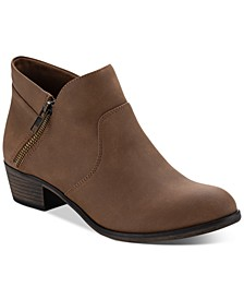 Abby Double Zip Booties, Created for Macy's