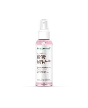 NatureWell Advanced Liquid Hand Sanitizer Spray, 4 oz