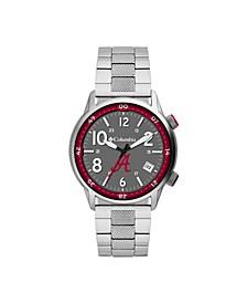 Men's Outbacker Alabama Stainless Steel Bracelet Watch 45mm