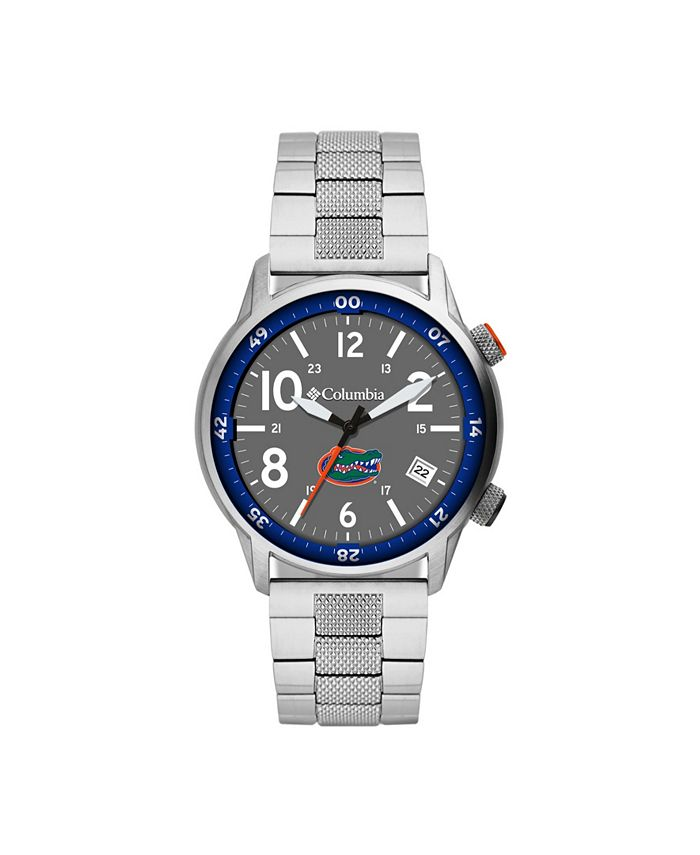 Columbia - Men's Outbacker Florida Stainless Steel Bracelet Watch 45mm