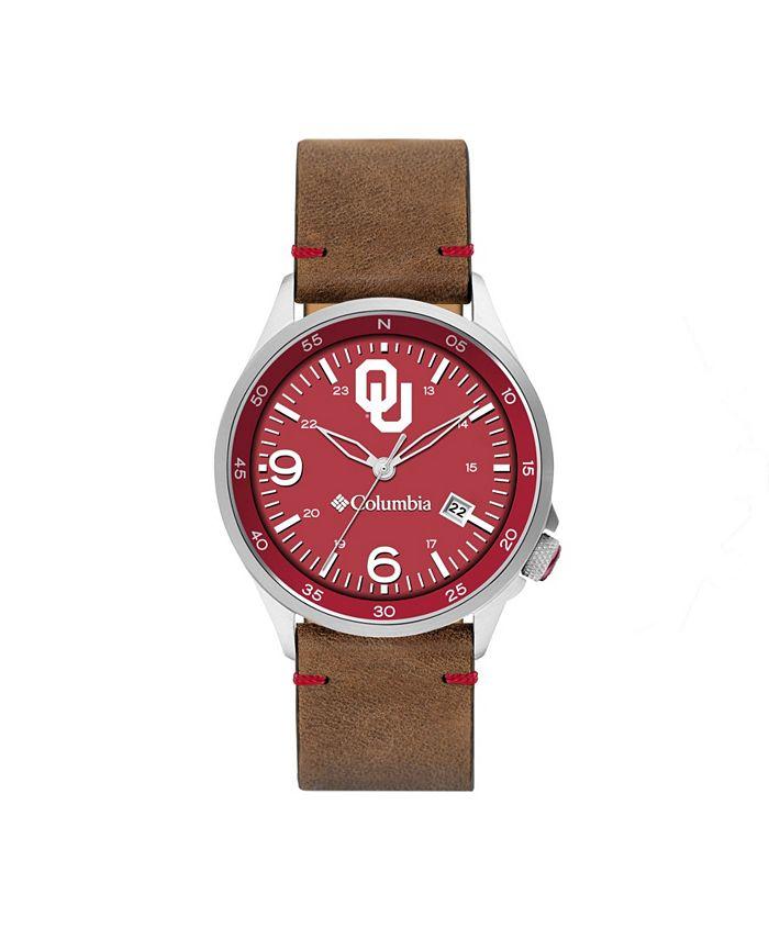 Columbia - Men's Canyon Ridge Oklahoma Saddle Leather Watch 45mm