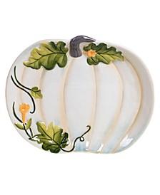 Harvest Gatherings Pumpkin Platter