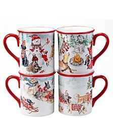 Special Delivery 4 Piece Mug