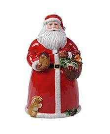 Magic of Christmas Santa Cookie Jar