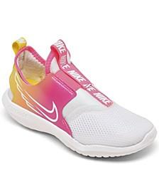 Little Girls Flex Runner Sun Slip-on Running Sneakers from Finish Line