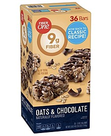 Chewy Bars Oats and Chocolate, 1.4 oz, 30 Count