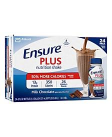 Plus Nutrition Shake Milk Chocolate, 8 oz, 24 Count