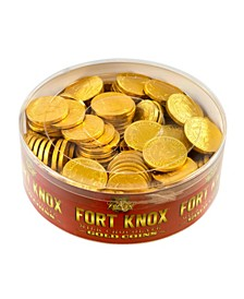 Milk Chocolate 1.5-Inch Coins Gold Foil, 2 lbs Tub