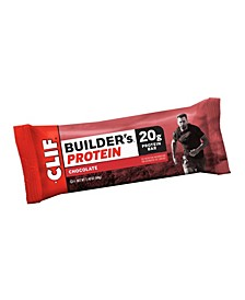 Clif Builder's Protein Bar Chocolate, 2.4 oz, 12 Count