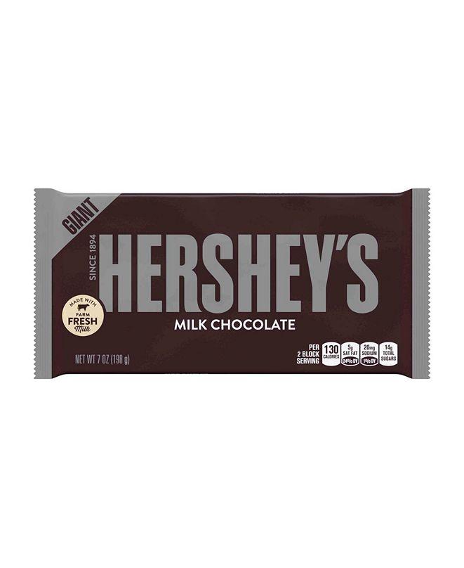 Hershey's Milk Chocolate Bar, Giant, 7 Ounces, 3 Pack