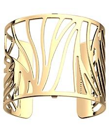 Perroquet Wavy Openwork Wide Adjustable Cuff Bracelet, 40mm, 1.6in