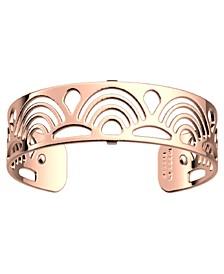 Loop Openwork Thin Adjustable Cuff Poisson Bracelet, 14mm, 0.5in