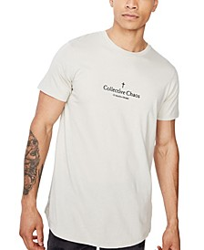 Men's Longline Scoop Neck T-Shirt