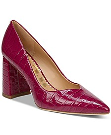 Marlee Block-Heel Pumps