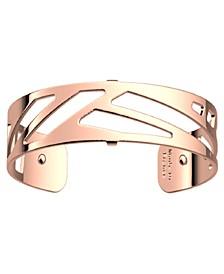 Geometric Openwork Thin Adjustable Cuff Bracelet, 14mm, 0.5in