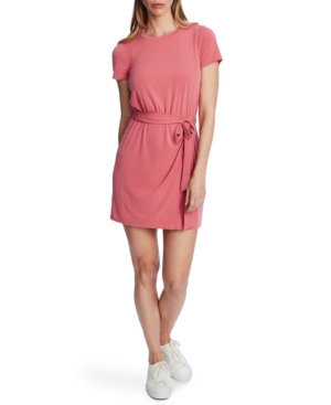 Image of 1.state Belted T-Shirt Dress