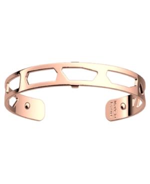 Silver-Tone Exotic Spots Extra-Thin Cuff Girafe Bracelet