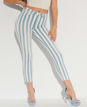 Guess 1981 STRIPED SKINNY JEANS