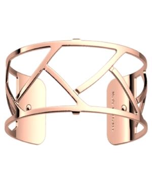 Wavy Openwork Wide Adjustable Cuff Tresse Bracelet