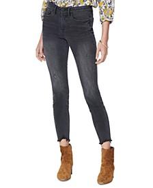 Ami Frayed Skinny Jeans