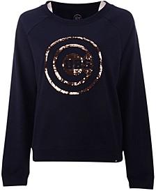 Women's Chicago Cubs Cosmo Crew Sweatshirt