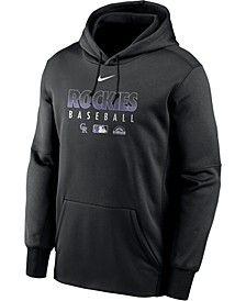 Men's Colorado Rockies Authentic Collection Therma Dugout Hoodie