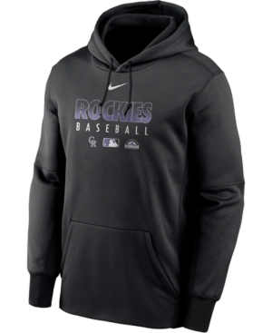 Nike Men's Colorado Rockies Authentic Collection Therma Dugout Hoodie