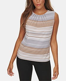 Pleated Neck Camisole