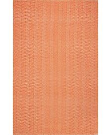 Kimberely HMCO4D Orange 5' x 8' Area Rug