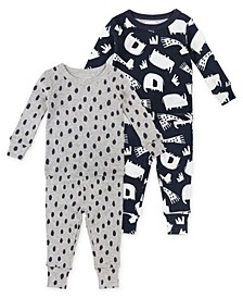 Toddler Unisex 4-Piece Pajama Set