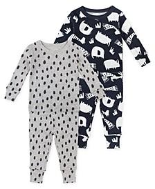 Baby Unisex 4-Piece Pajama Set