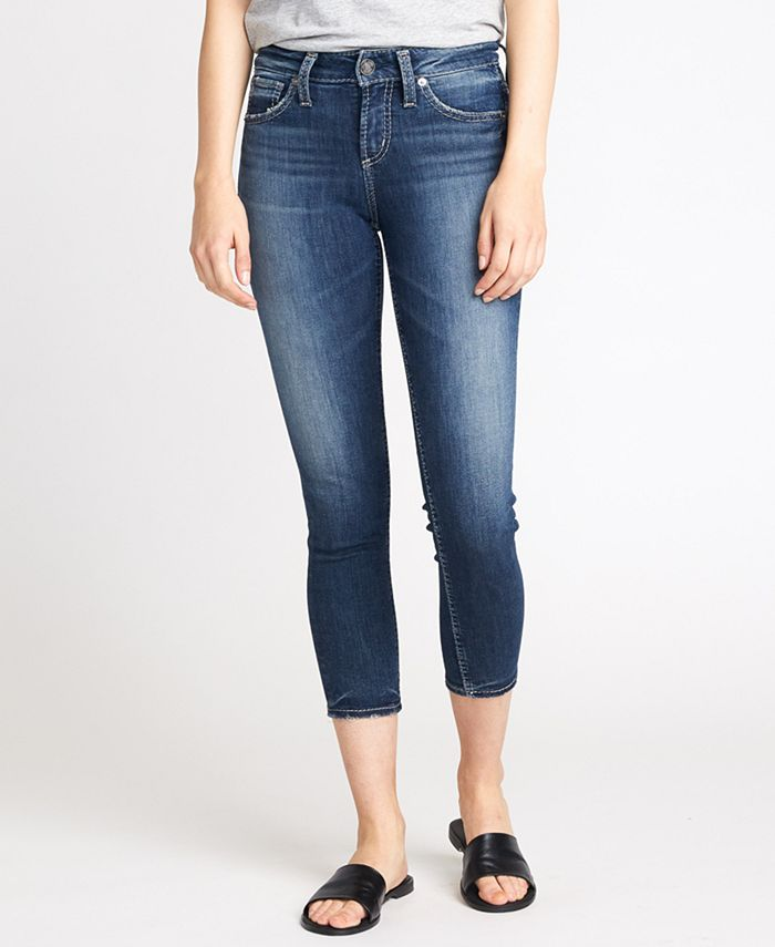 Silver Jeans Co. - Avery Cropped Skinny Jeans