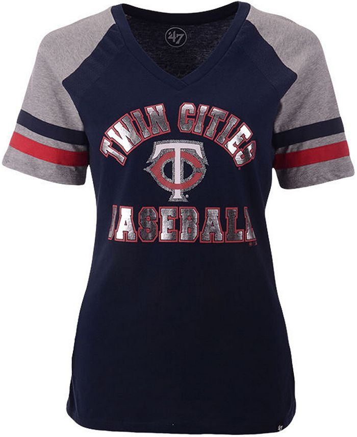 '47 Brand - Minnesota Twins Women's Local Phrase Pavilion T-Shirt
