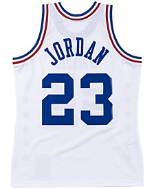 Men's All Star Authentic Jersey Michael Jordan