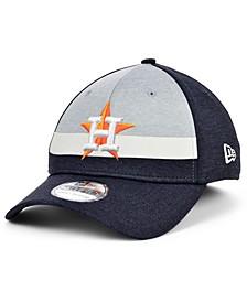 Houston Astros Youth Striped Shadow Tech 39THIRTY Cap