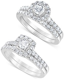 Halo Bridal Set Collection (1 ct. t.w.)