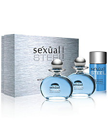 Michel Germain Men's sexual steel pour homme Gift Set - A Macy's Exclusive