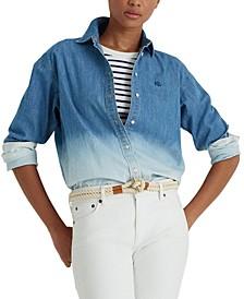 Cotton OmbréShirt