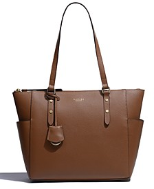 Silk Street Zip-Top Tote