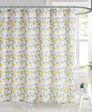 Brooklyn Loom Verbena Floral Shower Curtain, 72